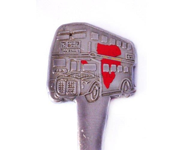 Английский автобус ложка
