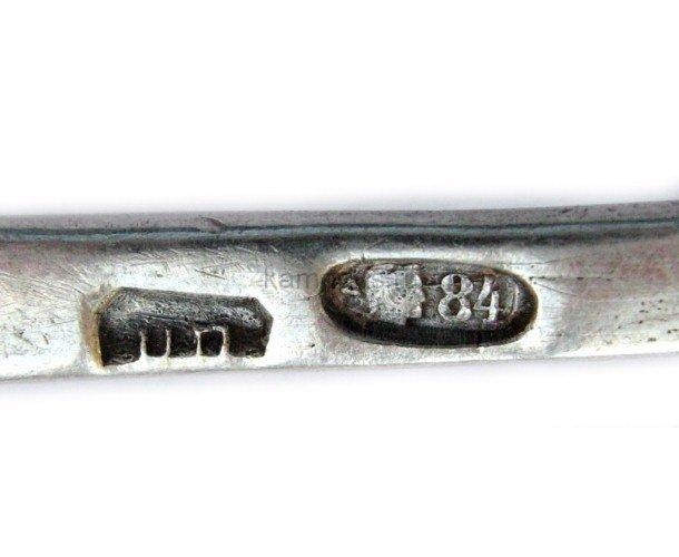 Ложка серебряная 84 пробы НП