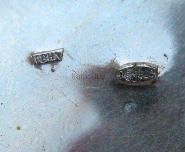 Ложка серебряный Колокольчик