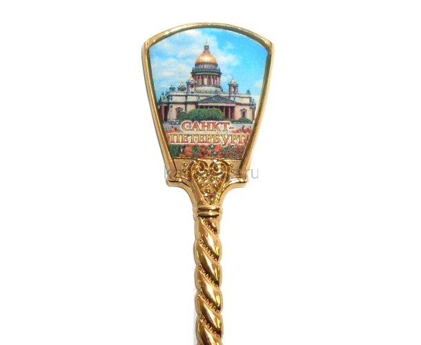 Ложка Санкт-Петербург жёлтая