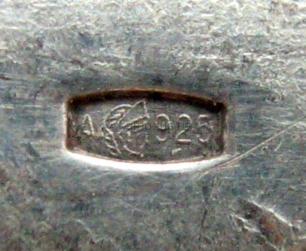 Ложка серебреная Водолей