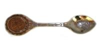 Ложка Египет на ручке изображена Нефертити